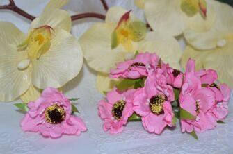 """Цветы """"Мак"""" на веточке, 4,5 см"""